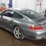 Porsche grise - Mécanique Expert Prestige