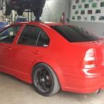 Volkswagen rouge - Mécanique Expert Prestige